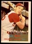 1957 Topps #180  Gus Bell  Front Thumbnail
