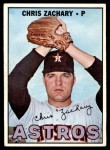 1967 Topps #212  Chris Zachary  Front Thumbnail