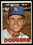 1967 Topps #260  Jim LeFebvre  Front Thumbnail
