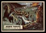 1962 Topps Civil War News #51   Horse Thieves Front Thumbnail