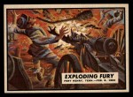 1962 Topps Civil War News #5   Exploding Fury Front Thumbnail