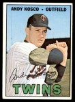 1967 Topps #366  Andy Kosco  Front Thumbnail