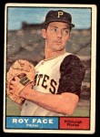 1961 Topps #370  Roy Face  Front Thumbnail