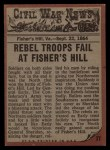 1962 Topps Civil War News #77   Trapped Back Thumbnail
