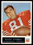 1965 Philadelphia #180  Dave Parks   Front Thumbnail