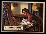 1962 Topps Civil War News #50   Stolen Secrets Front Thumbnail