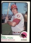 1973 Topps #455  Bill Melton  Front Thumbnail