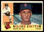 1960 Topps #296  Nelson Chittum  Front Thumbnail