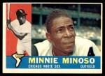 1960 Topps #365  Minnie Minoso  Front Thumbnail