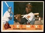 1960 Topps #246  Lee Maye  Front Thumbnail