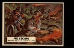 1962 Topps Civil War News #71   No Escape Front Thumbnail