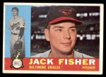 1960 Topps #46  Jack Fisher  Front Thumbnail