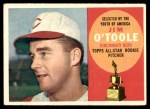 1960 Topps #325  Jim O'Toole  Front Thumbnail