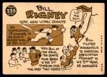 1960 Topps #225  Bill Rigney  Back Thumbnail