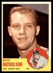 1963 Topps #234  Dave Nicholson  Front Thumbnail