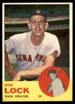 1963 Topps #47  Don Lock  Front Thumbnail