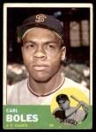 1963 Topps #428  Carl Boles  Front Thumbnail