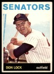 1964 Topps #114  Don Lock  Front Thumbnail