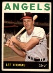 1964 Topps #255  Lee Thomas  Front Thumbnail
