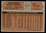 1972 Topps #535  Ed Brinkman  Back Thumbnail