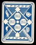 1951 Topps Blue Back #8  Dick Sisler  Back Thumbnail