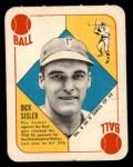 1951 Topps Blue Back #8  Dick Sisler  Front Thumbnail