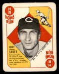 1951 Topps Blue Back #49  Hank Sauer  Front Thumbnail