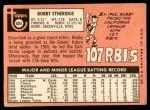 1969 Topps #604  Bobby Etheridge  Back Thumbnail