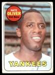 1969 Topps #354  Nate Oliver  Front Thumbnail