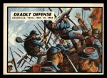 1962 Topps Civil War News #81   Deadly Defense Front Thumbnail