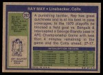 1972 Topps #297  Ray May  Back Thumbnail