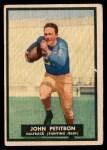 1951 Topps Magic #33  John Petitbon  Front Thumbnail