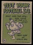 1972 Topps #261   -  Greg Landry Pro Action Back Thumbnail