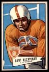 1952 Bowman Large #136  Bert Rechichar  Front Thumbnail
