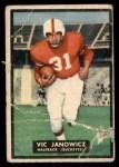 1951 Topps Magic #10  Vic Janowicz  Front Thumbnail