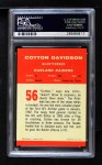 1963 Fleer #56  Cotton Davidson  Back Thumbnail