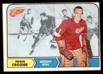 1968 O-Pee-Chee #23  Roger Crozier  Front Thumbnail