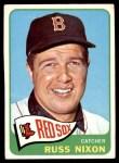 1965 Topps #162  Russ Nixon  Front Thumbnail