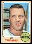 1968 Topps #438  Lee Thomas  Front Thumbnail