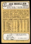 1968 Topps #359  Joe Moeller  Back Thumbnail