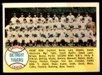 1958 Topps #397 ALP  Tigers Team Checklist Front Thumbnail