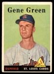 1958 Topps #366  Gene Green  Front Thumbnail