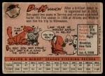 1958 Topps #147  Don McMahon  Back Thumbnail