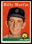 1958 Topps #271  Billy Martin  Front Thumbnail