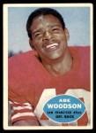 1960 Topps #120  Abe Woodson  Front Thumbnail