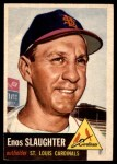 1953 Topps #41  Enos Slaughter  Front Thumbnail