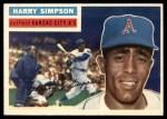 1956 Topps #239  Harry Simpson  Front Thumbnail