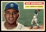 1956 Topps #235  Don Newcombe  Front Thumbnail