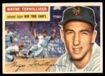 1956 Topps #73  Wayne Terwilliger  Front Thumbnail