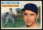 1956 Topps #189  Ned Garver  Front Thumbnail